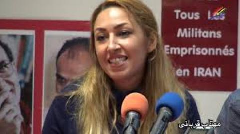 خانم مهتاب قربانی : پشتیبانی برای حاکمیت ملی و مردمی